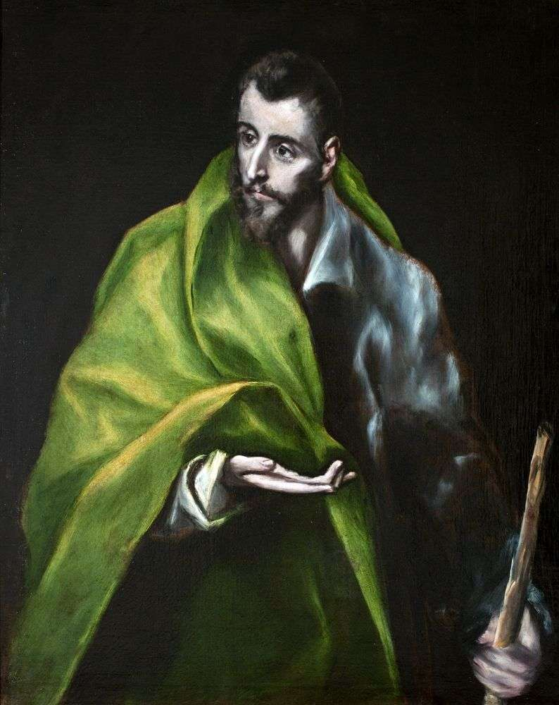Apostle James Zebedee by El Greco