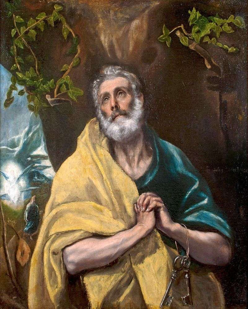 The Apostle Peter by El Greco