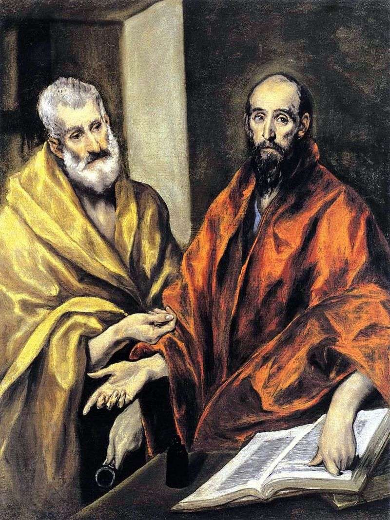The Holy Apostles Peter and Paul by El Greco