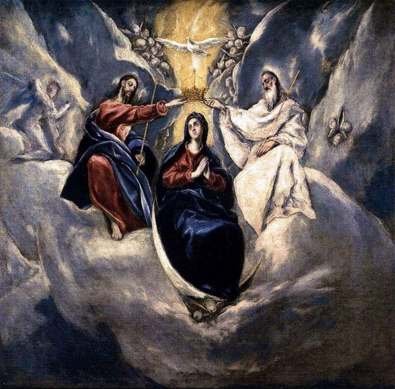Coronation of the Virgin Mary by El Greco