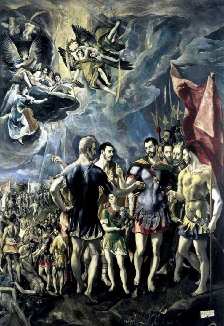 The Martyrdom of St Mauritius by El Greco
