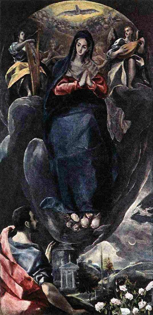 Immaculate Conception by El Greco