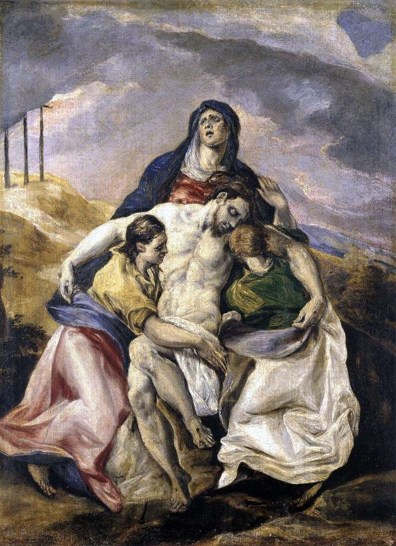 Pieta, or Lamentation of Christ by El Greco