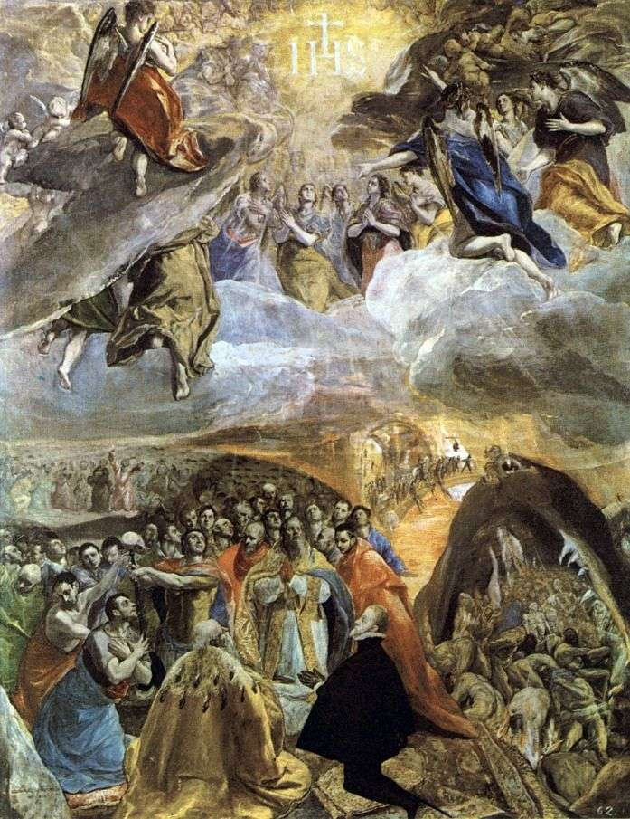Worship of the Name of Christ by El Greco