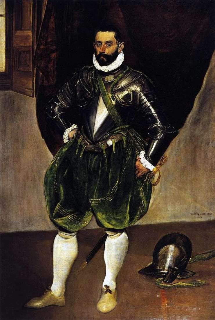 Portrait of Vincenzo Anastasi by El Greco