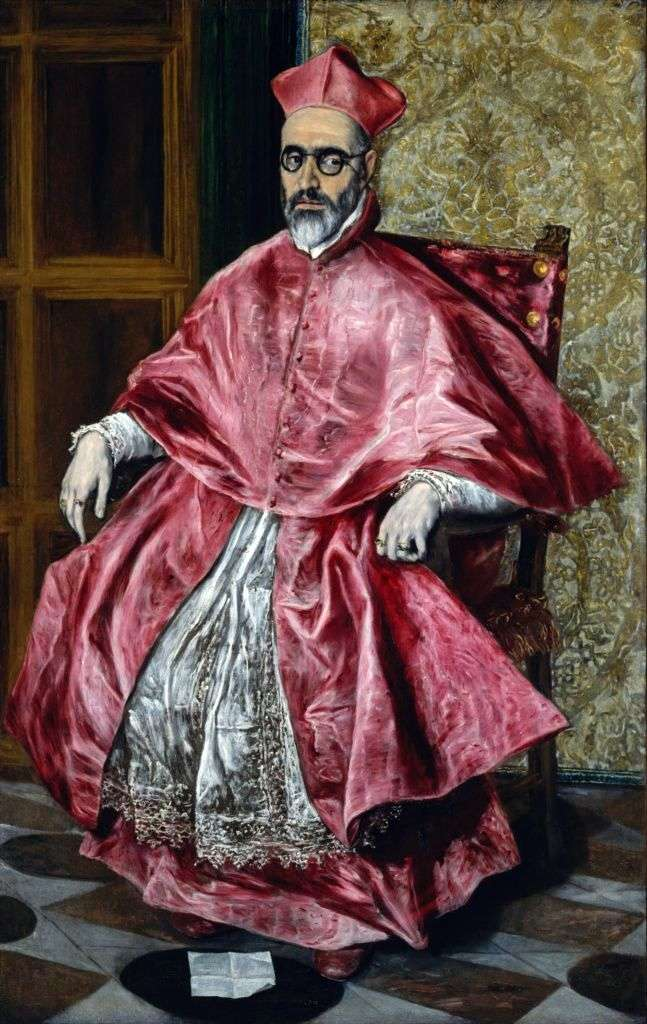 Portrait of the Cardinal by El Greco