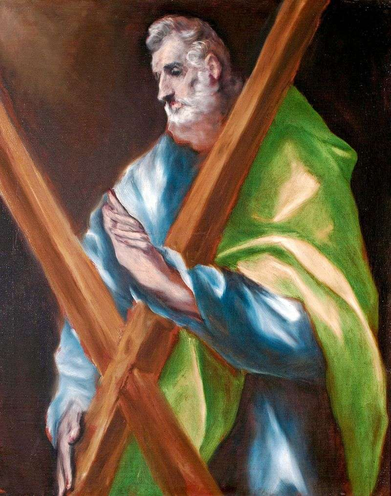 The Holy Apostle Andrew by El Greco
