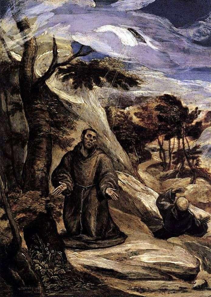 Stigmatization of St. Francis by El Greco