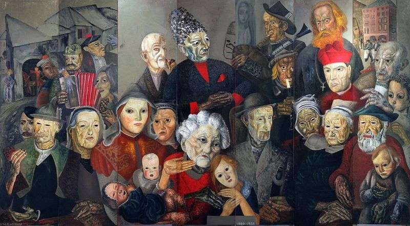 Faces of the world by Boris Grigoriev