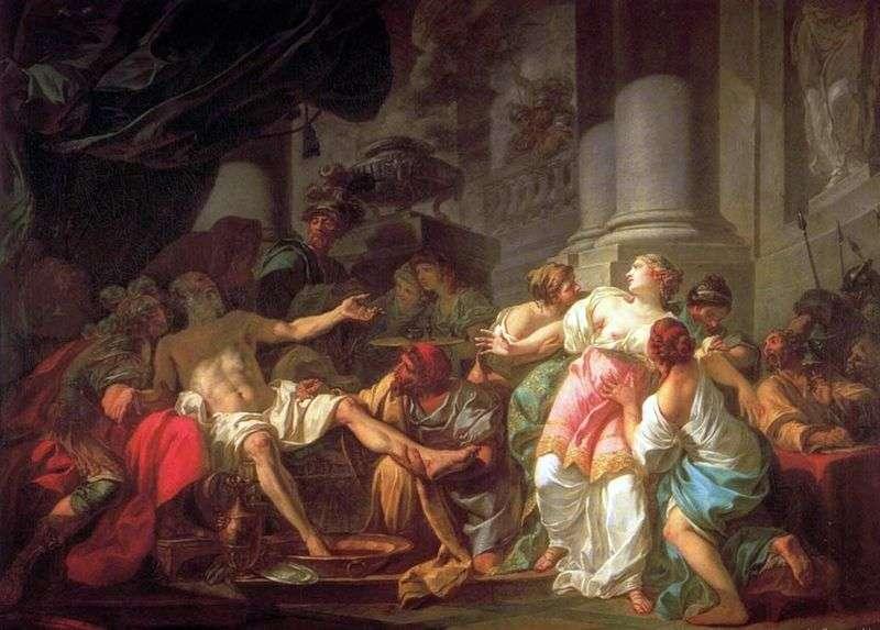 Death Of Seneca By Jacques Louis David