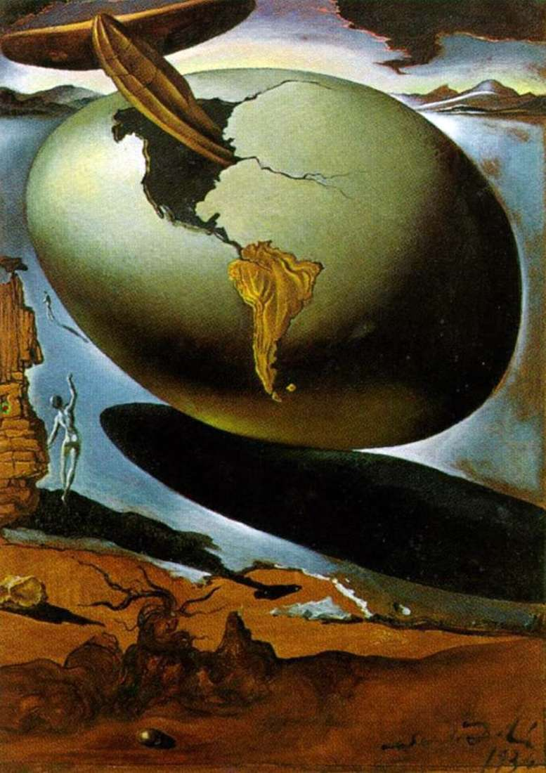 Allegory of American Christmas by Salvador Dali