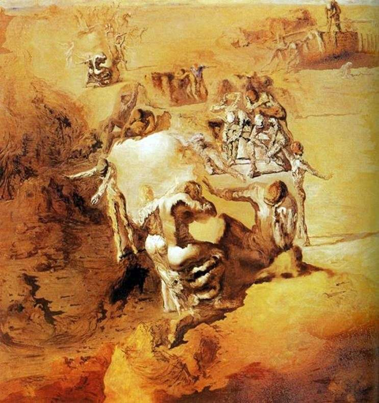 Big Paranoid by Salvador Dali