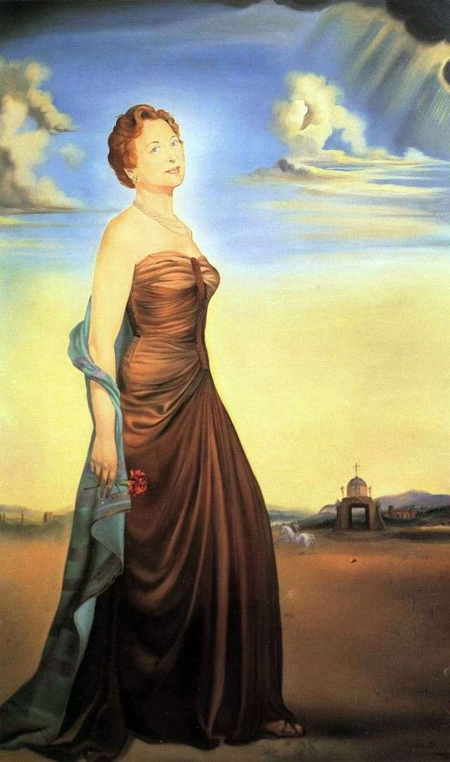 Madame Reese by Salvador Dali