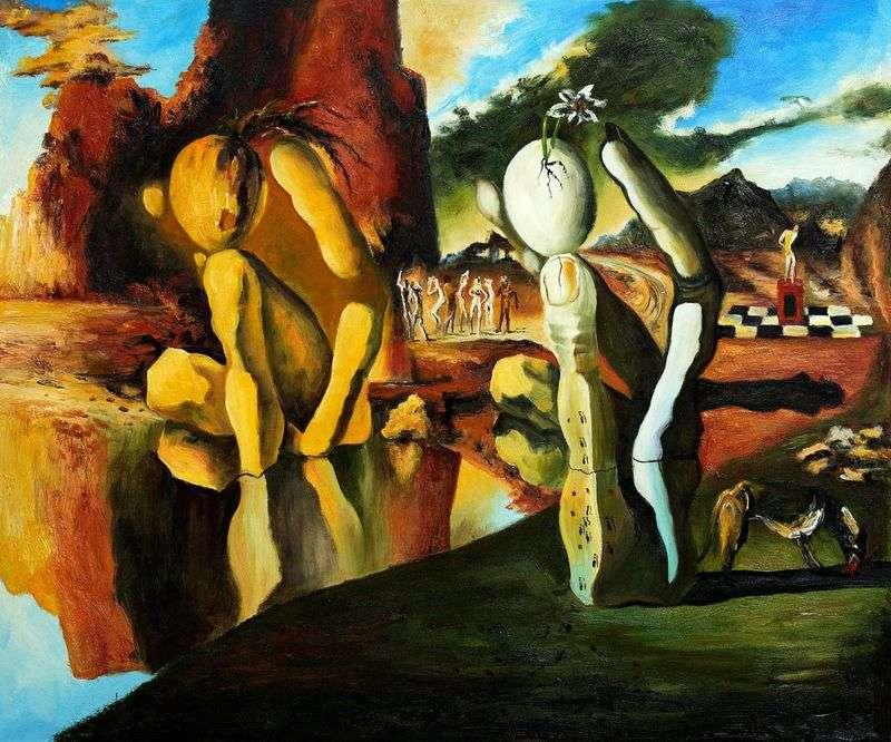 Metamorphosis of Narcissus by Salvador Dali