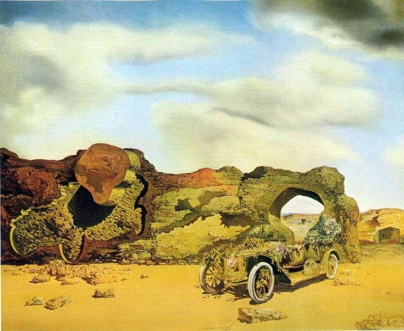Paranoid critical loneliness by Salvador Dali