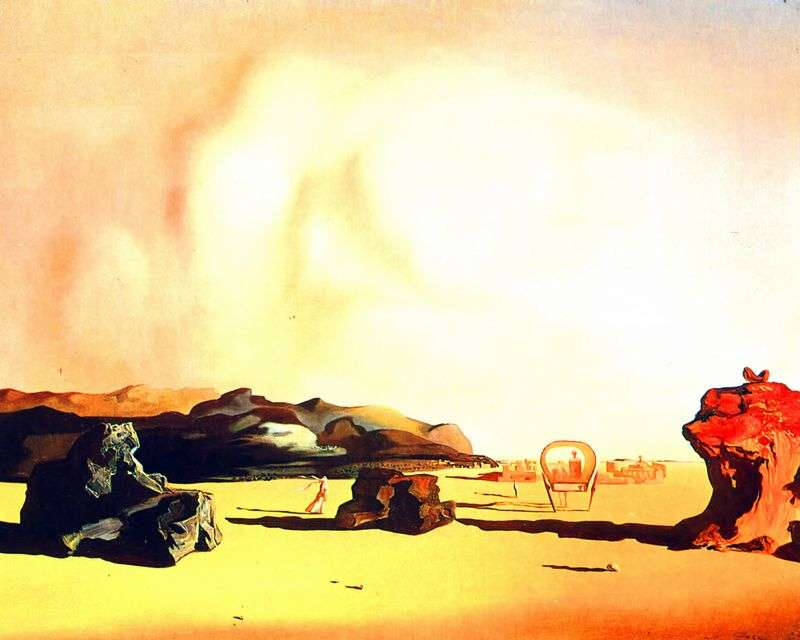 Transitional moment by Salvador Dali