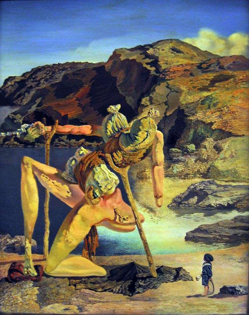 Ghost of sexual attraction by Salvador Dali