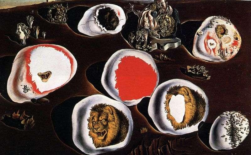 Adjustability of desires by Salvador Dali