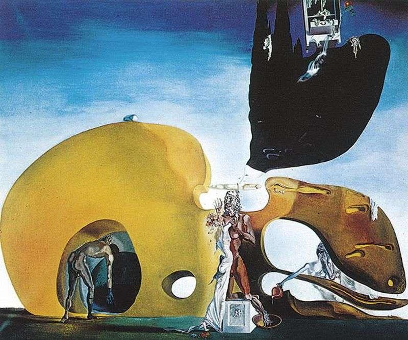 Birth of fluid desires by Salvador Dali