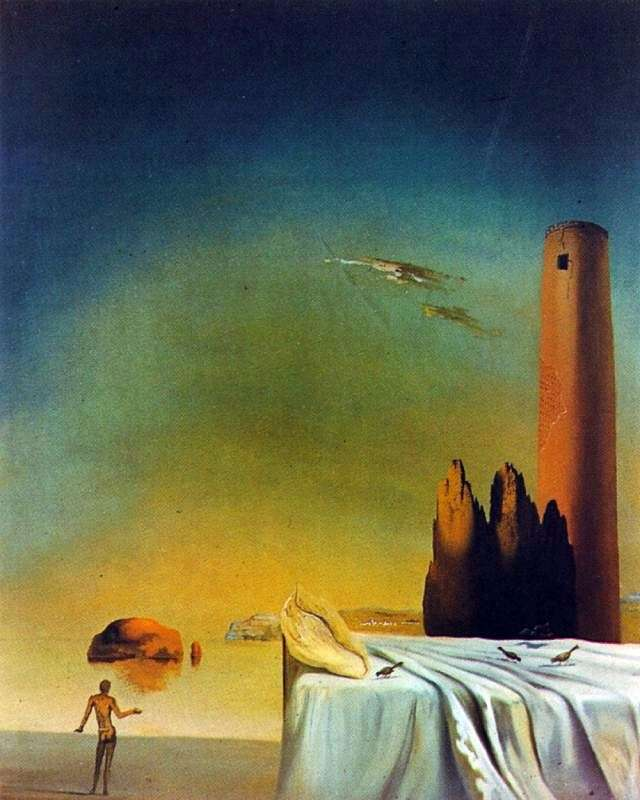 Sleep approaches by Salvador Dali