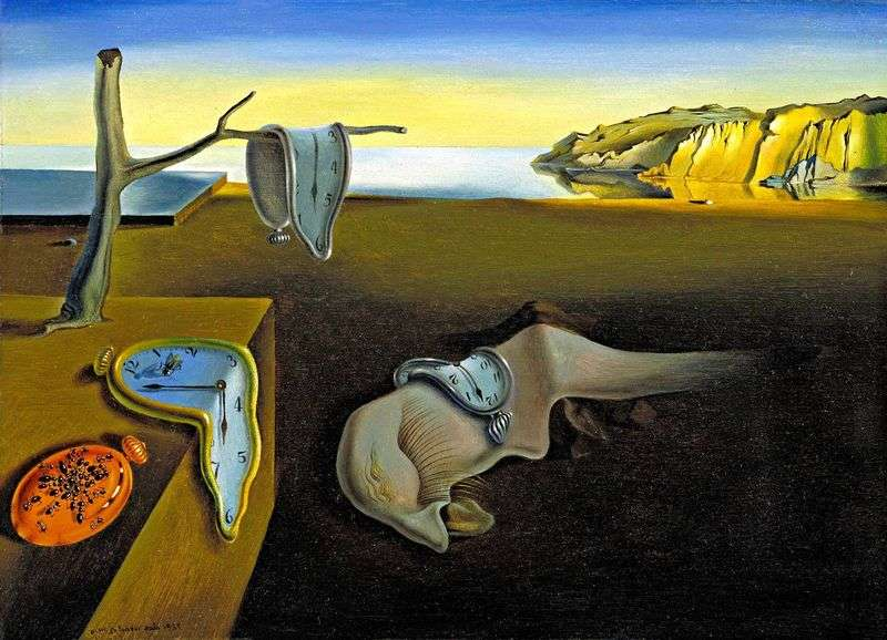 Consistency of memory by Salvador Dali