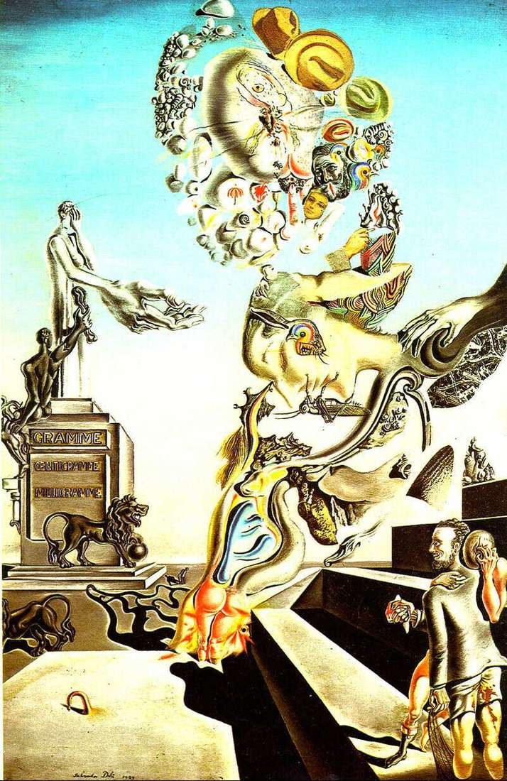 Funeral Game by Salvador Dali