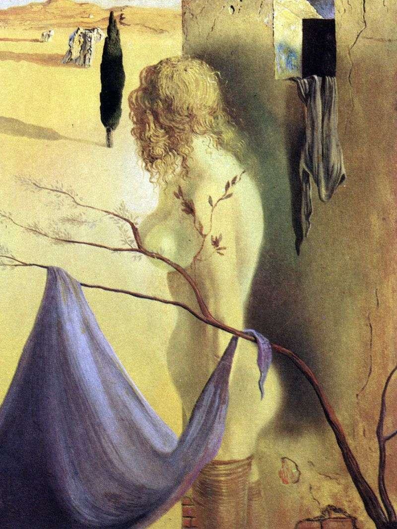 Anxious sign by Salvador Dali