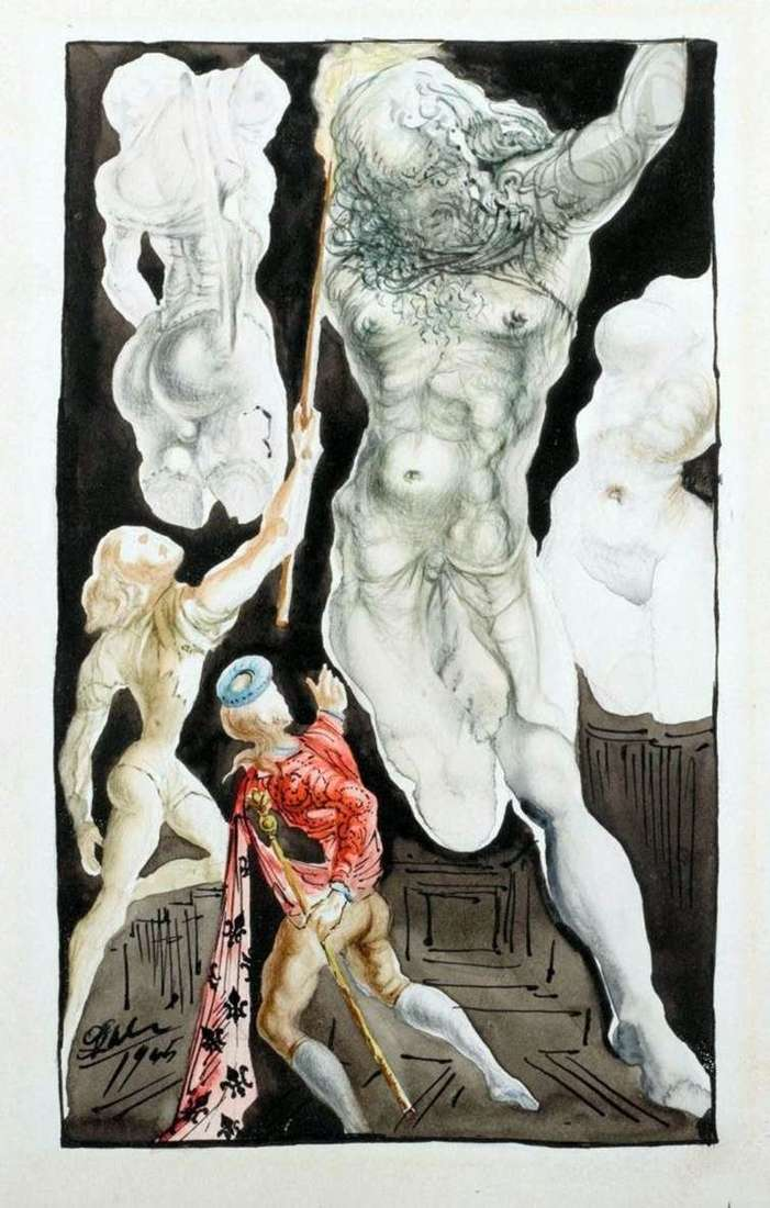 Jupiter by Salvador Dali