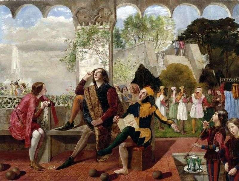 Twelfth Night by Deverell