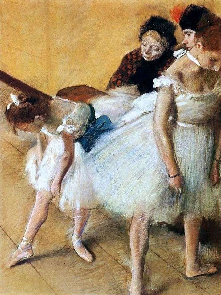 Examination in dance by Edgar Degas