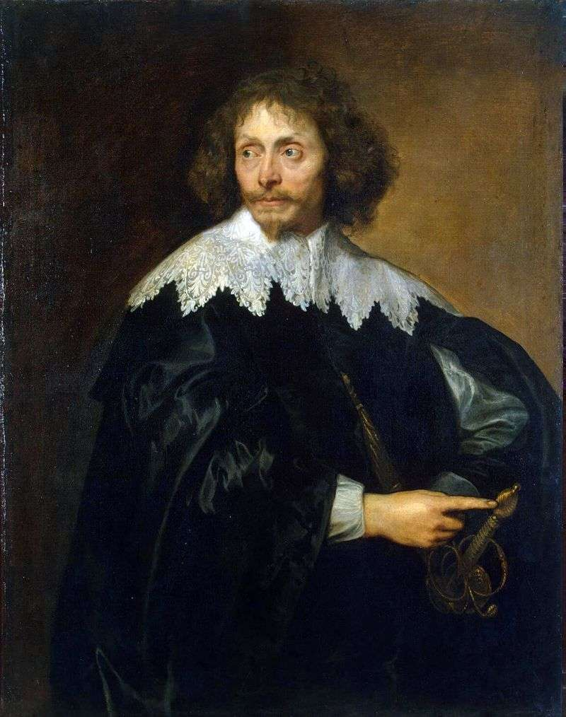 Portrait of Sir Thomas Chaloner by Anthony Van Dyck