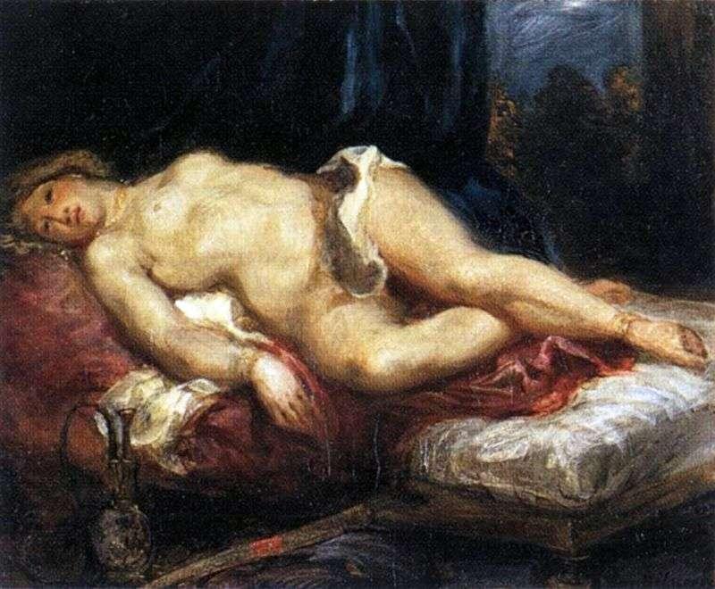 Odalisque by Eugene Delacroix