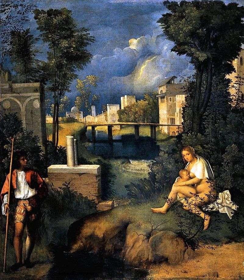 Storm by Giorgione