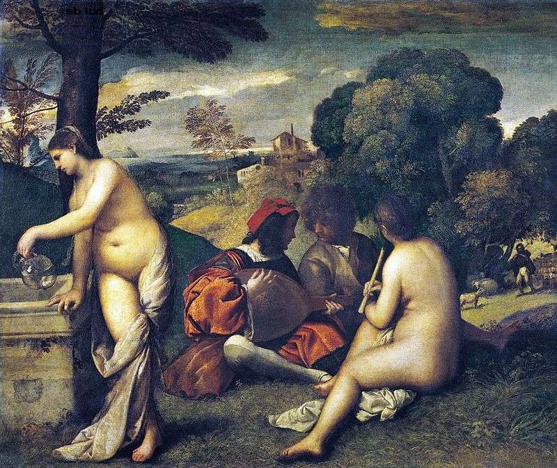 Country Concert by Giorgione