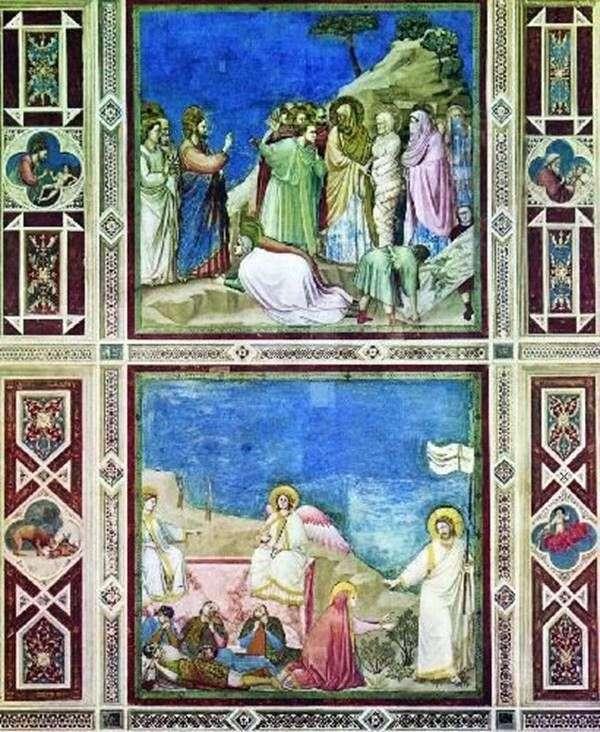 Paintings of the Capella del Arena by Giotto di Bondone