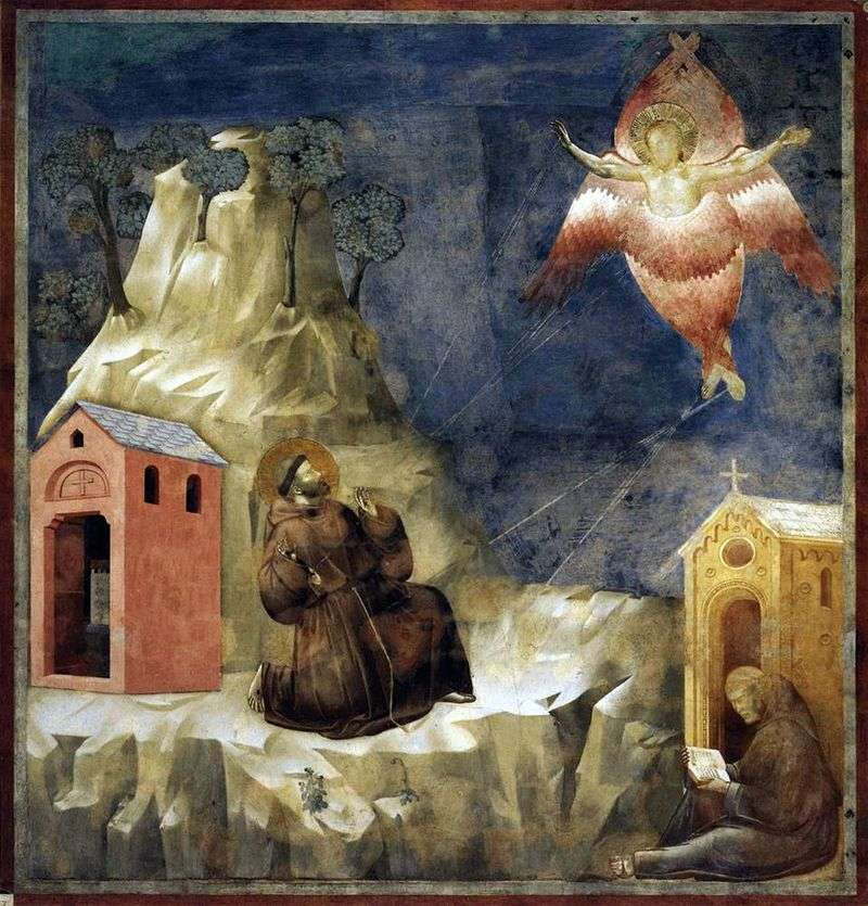 Stigmatization of St. Francis by Giotto
