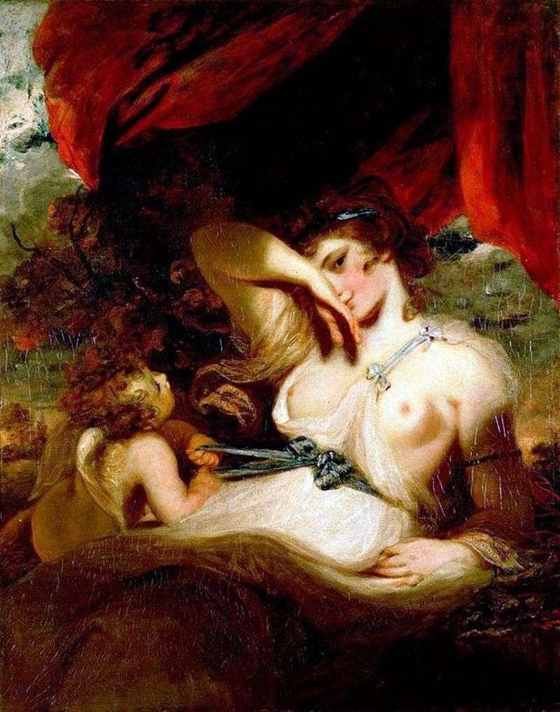 Cupid unleashes the belt of Venus by Reynolds Joshua