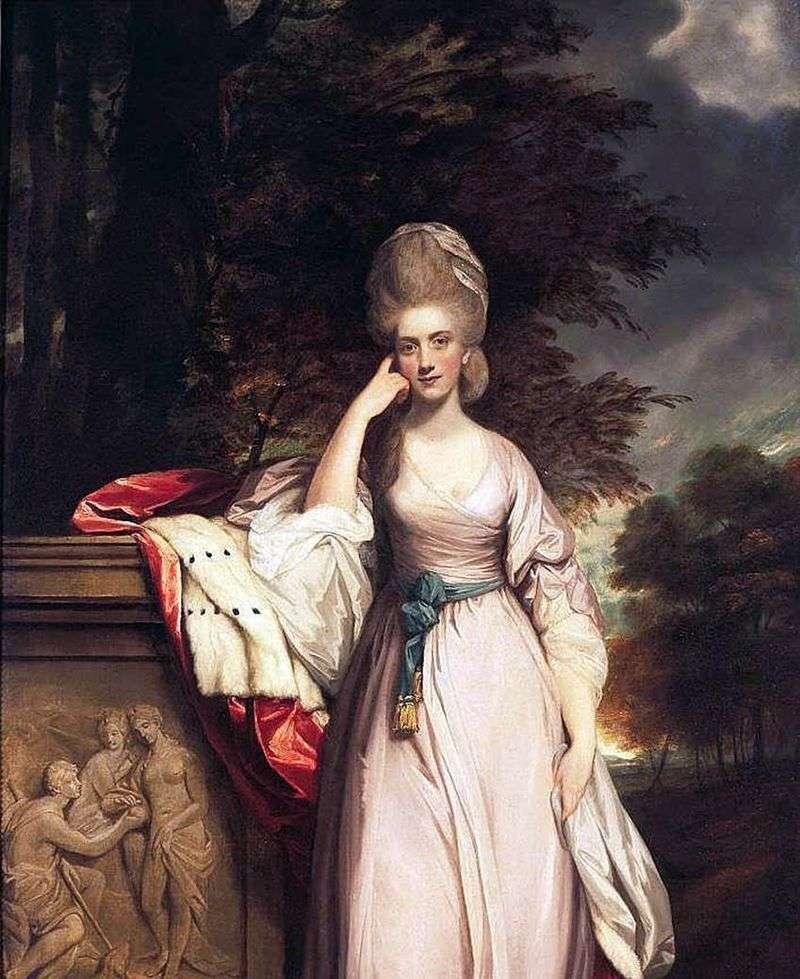 Anna, Viscountess Townshend (Anna Montgomery) by Reynolds Joshua