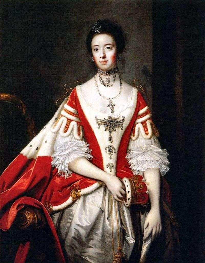 Countess Dartmouth by Reynolds Joshua