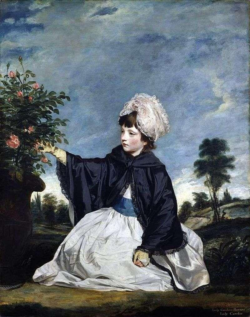 Lady Caroline Howard by Reynolds Joshua