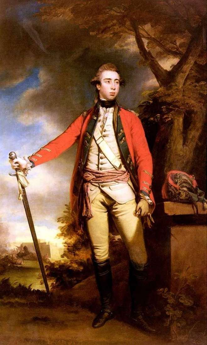 Portrait of Lord Ferrers by Reynolds Joshua