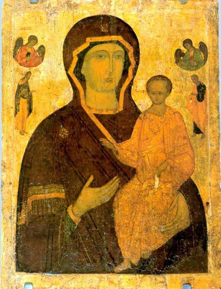 The Virgin Hodegetria by Dionysius