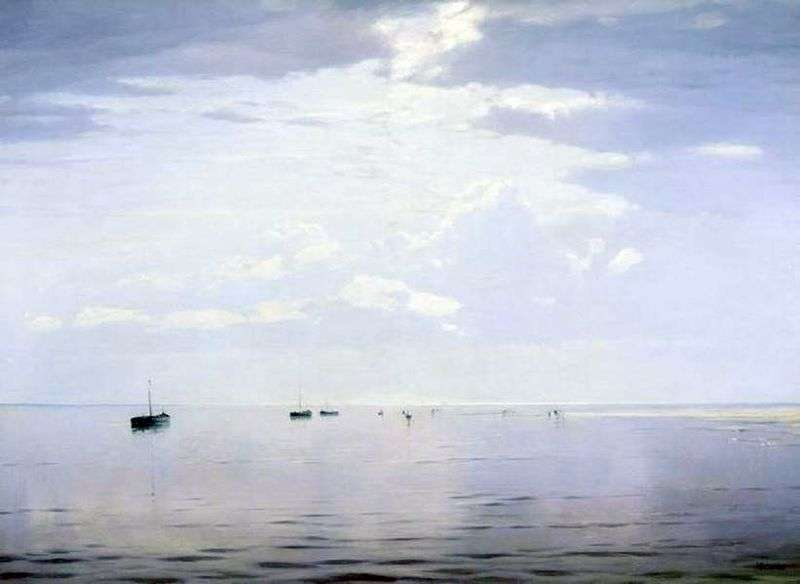 On the Volga by Nikolay Dubovskoy