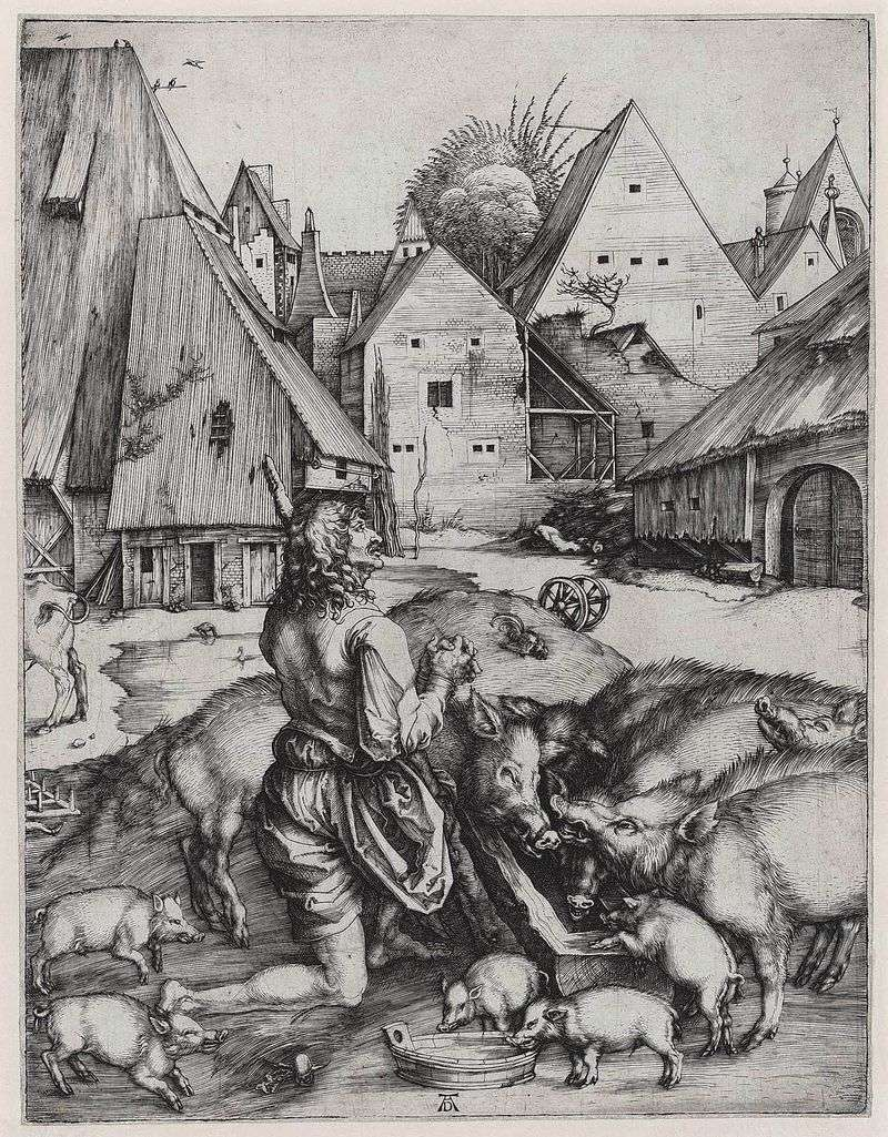 Return of the Prodigal Son by Albrecht Durer