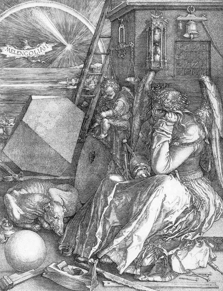 Melancholy by Albrecht Durer