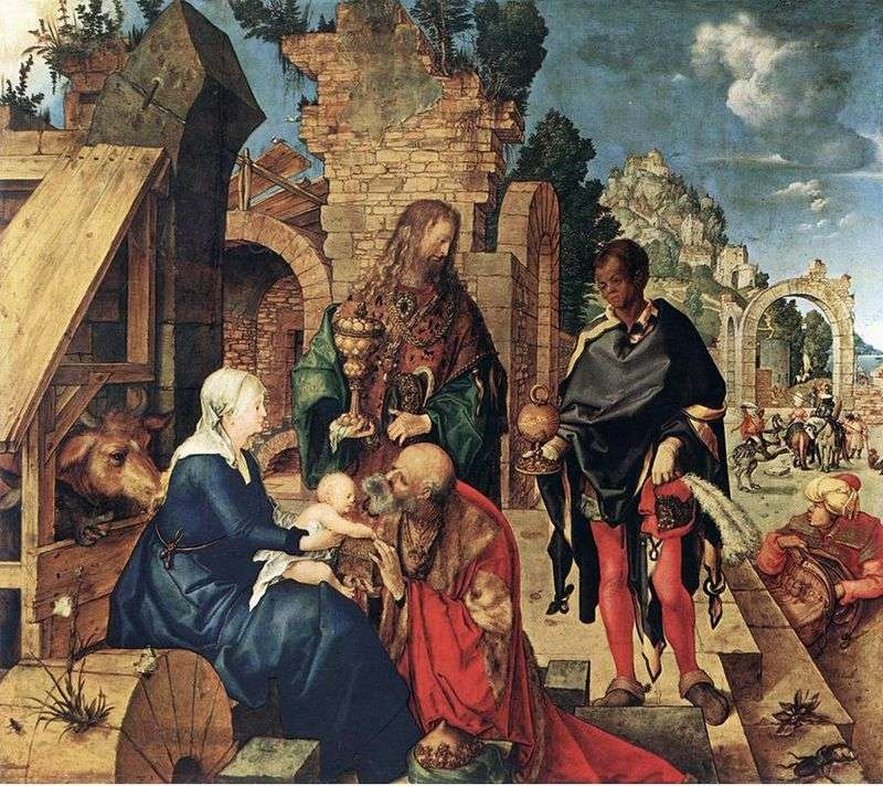 The Adoration of the Magi by Albrecht Durer