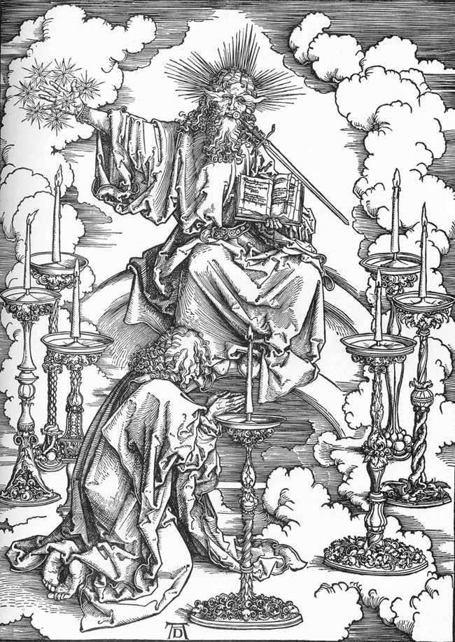 The Appearance of John the Christ and the Essence of the Seven Churches by Albrecht Durer