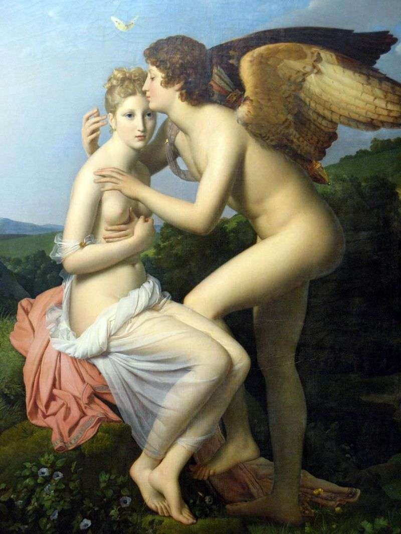 Cupid and Psyche by Francois Gerard
