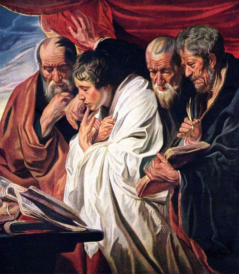 Four Evangelists by Jacob Jordaens