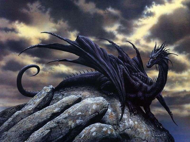 The last dragon by Kieruelo Cabral